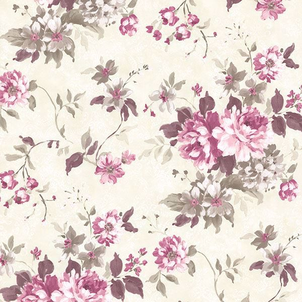 Picture of Eloise Maroon Floral