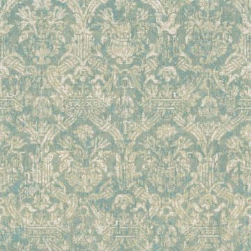 Picture of Lotus Turquoise  Damask