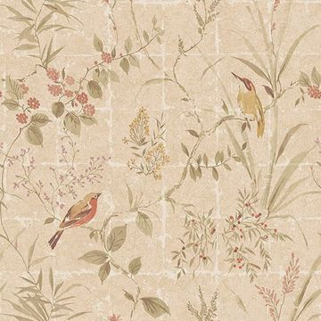 Picture of Imperial Beige  Garden Chinoiserie