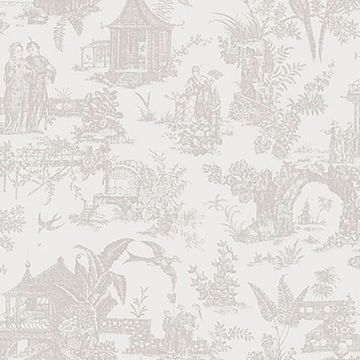 Picture of Zen Garden White Toile