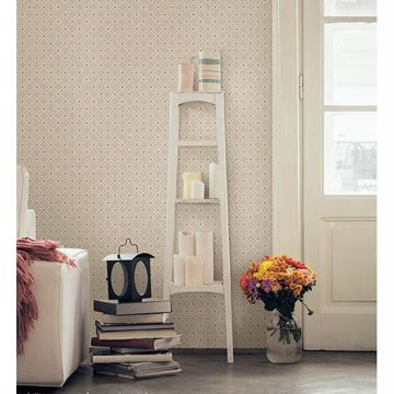 Picture of Kinetic Beige Geometric Floral