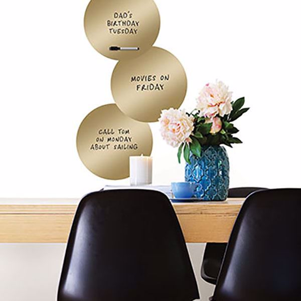 Picture of 14K Gold Dry Erase Dot Decals