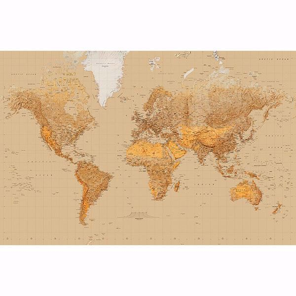 Picture of The World Wall Mural