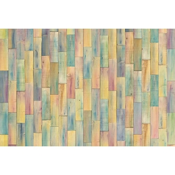 Picture of Painted Wood Wall Mural