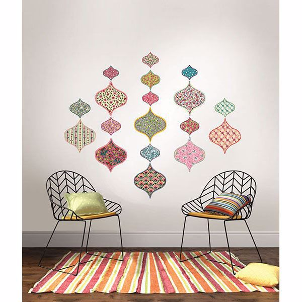 Boho Chic Wall Art Kit Wallpops Wall Decals