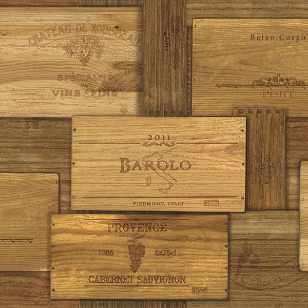 Picture of Randolph Brown Wine Crates