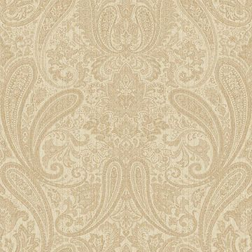 Picture of Ludlow Beige Paisley Wallpaper