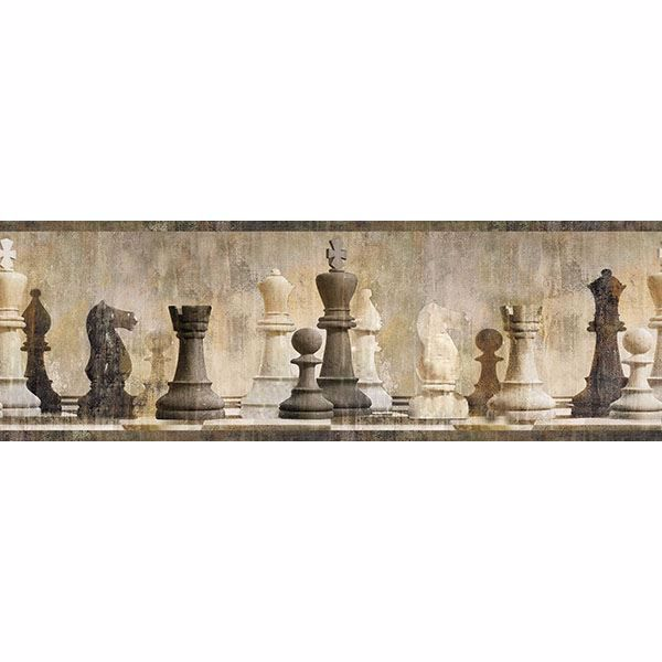 Picture of Albert Beige Chess Border