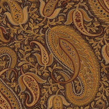Picture of Nathaniel Black Modern Paisley Wallpaper