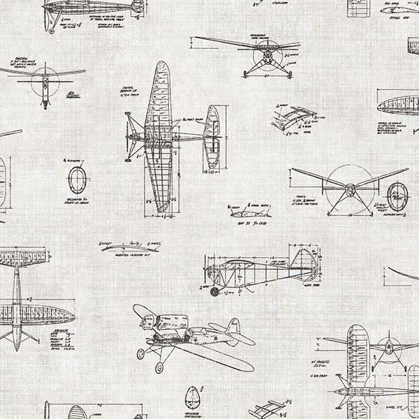 Picture of Douglas Black Vintage Planes