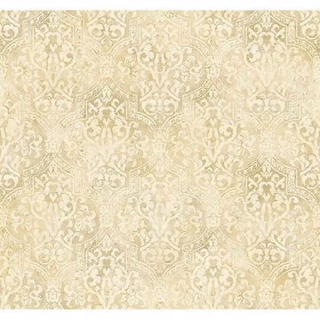 Picture of Frederick Beige Quatrefoil Medallion