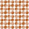 Picture of Copper Foil Confetti Dot Decals
