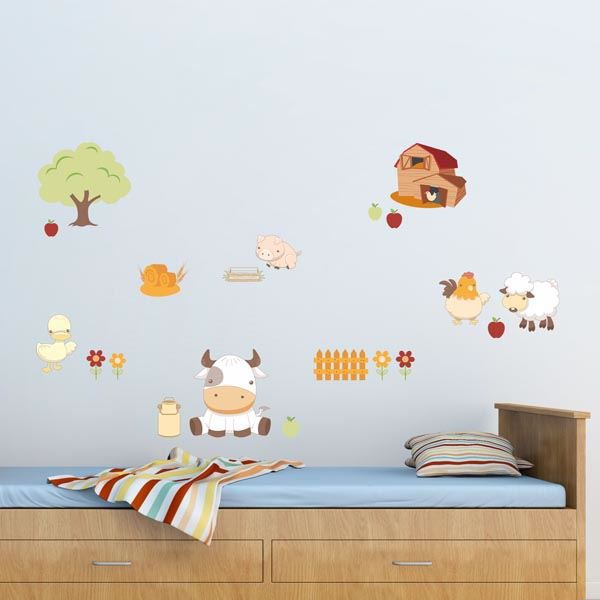 Picture of Baby Farm Wall Decals