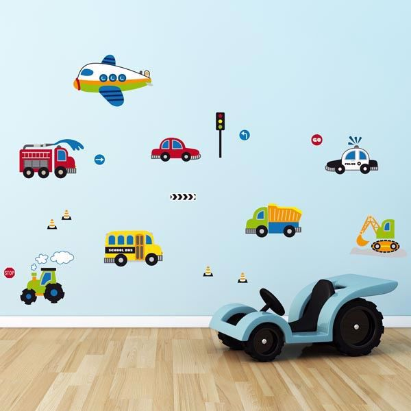 Picture of Traffic Wall Decals