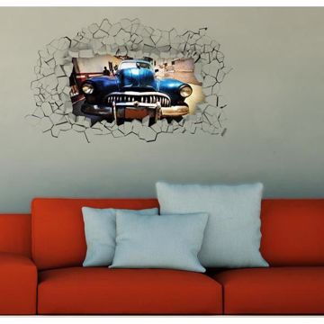 Picture of Car Poster Decal