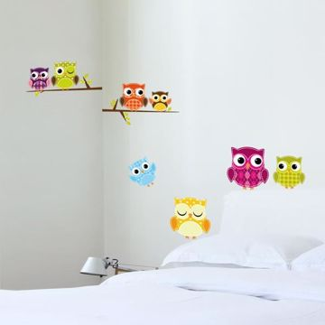Picture of Owls Wall Decals