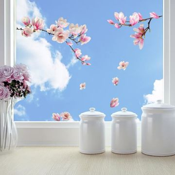 Picture of Magnolia Window Decals