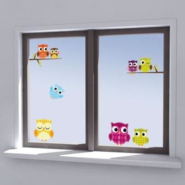 Picture of Owls Window Decals