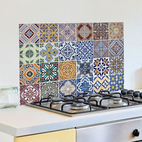 Picture of Azulejos Kitchen Panels
