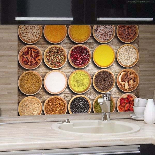 Picture of Spices Kitchen Panels