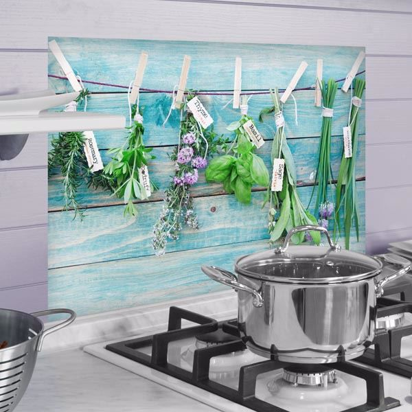 Picture of Herbs Kitchen Panels