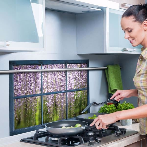 Picture of Wisteria Kitchen Panels