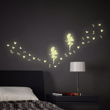 Picture of Fairy Glow in the Dark Wall Decals