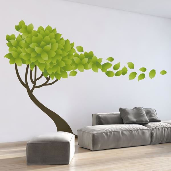 Picture of Tree in the Wind Wall Decals