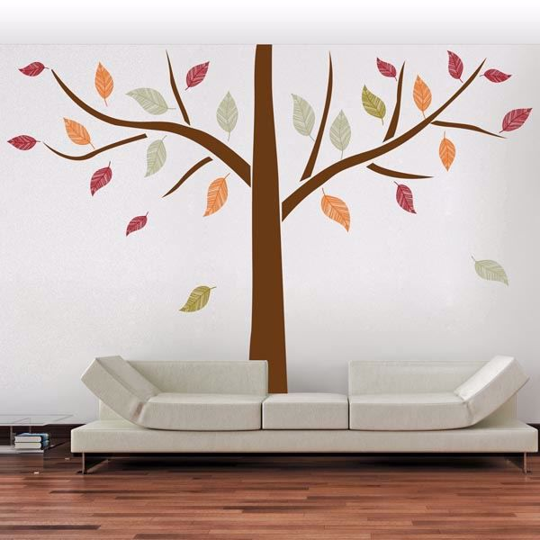 Picture of Ethnic Tree Wall Decals