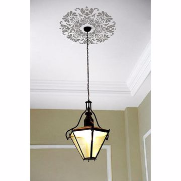 Picture of Grey Kolkata Ceiling Medallion