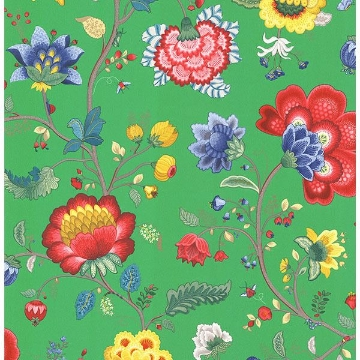 Picture of Epona Green Floral Fantasy