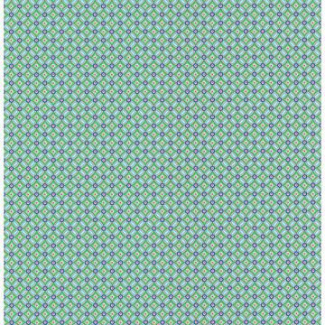 Picture of Eebe Green Floral Geometric