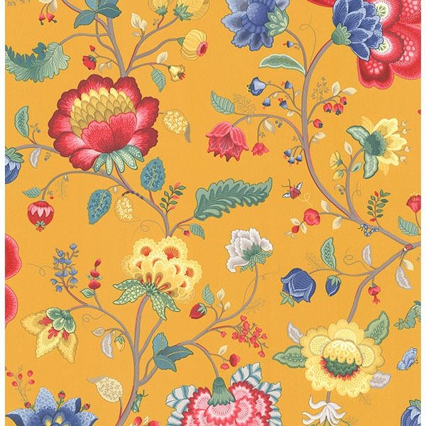 Picture of Epona Yellow Floral Fantasy