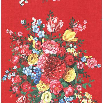 Picture of Ayaanle Red Dutch Painters Floral