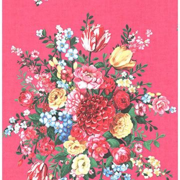 Picture of Ayaanle Pink Dutch Painters Floral