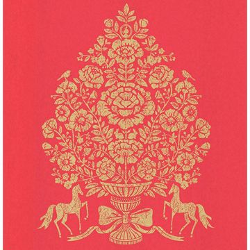 Picture of Till Red President Damask