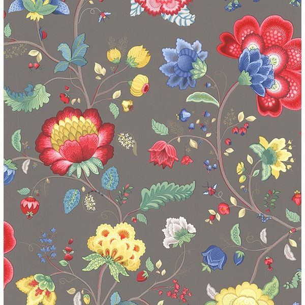Picture of Epona Charcoal Floral Fantasy