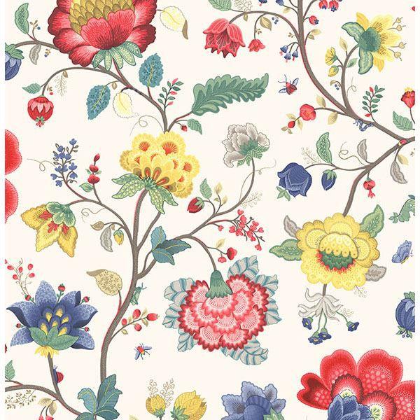 Picture of Epona Cream Floral Fantasy