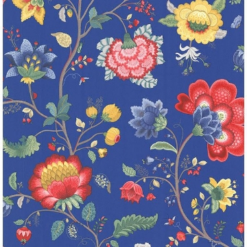 Picture of Epona Dark Blue Floral Fantasy