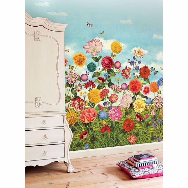 Picture of Wild Flowerland Mural