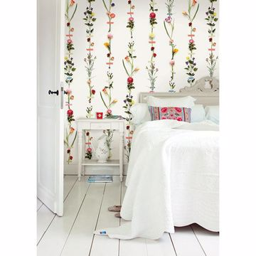 Picture of Flower Garland Mural