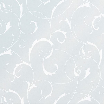 Picture of Scroll Flower Static Window Film