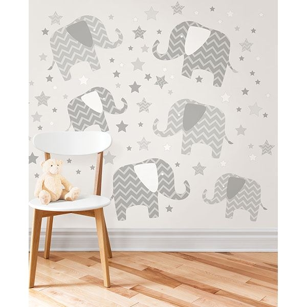 Picture of Elephants - A Ton Of Love Wall Art Kit