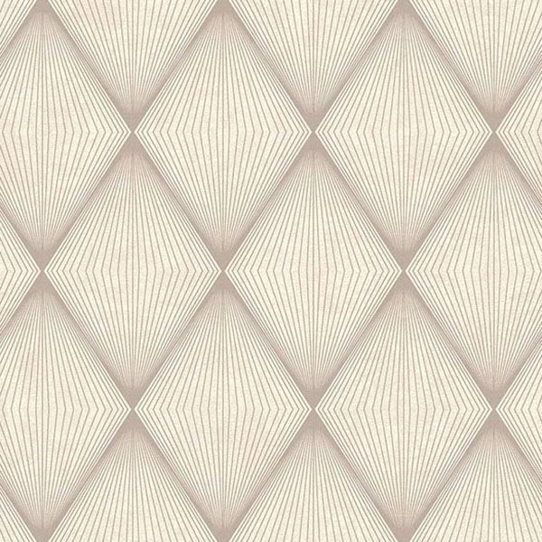 Picture of Enlightenment  Taupe Diamond Geometric