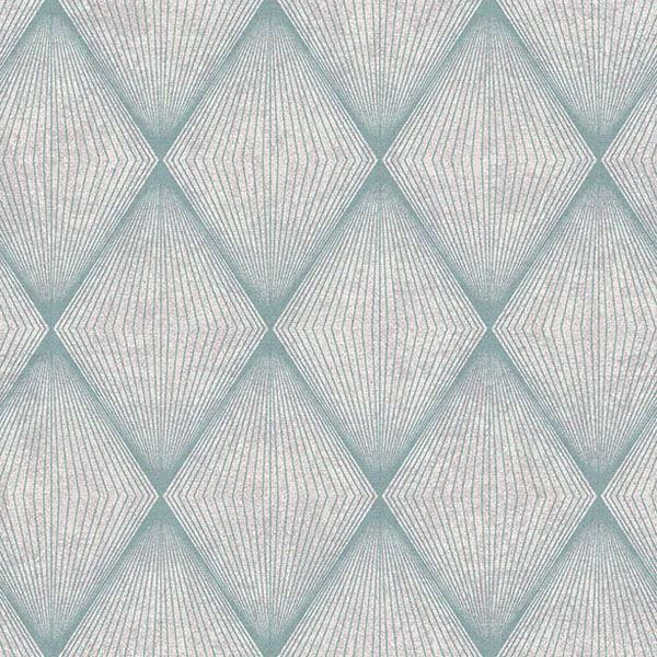 Picture of Enlightenment  Blue Diamond Geometric