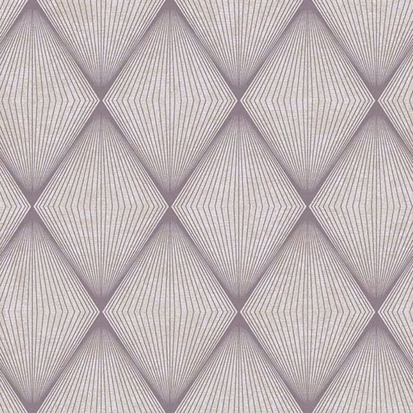 Picture of Enlightenment  Eggplant Diamond Geometric