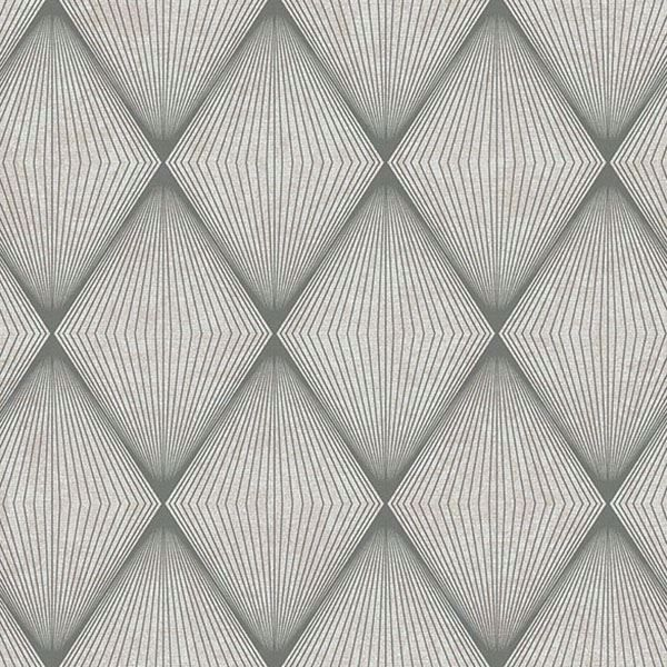 Picture of Enlightenment  Charcoal Diamond Geometric