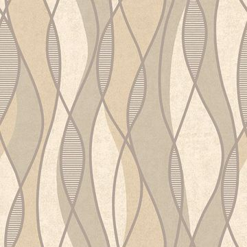 Picture of Gyro Beige Swirl Geometric