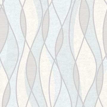 Picture of Gyro Light Blue Swirl Geometric