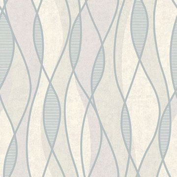 Picture of Gyro Pewter Swirl Geometric